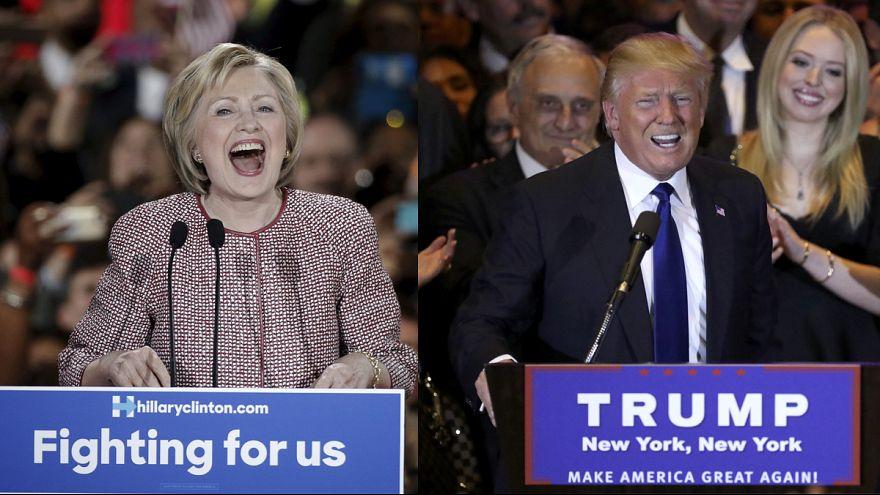 Праймериз в штате Нью-Йорк: Трамп и Клинтон ещё на шаг ближе к победе