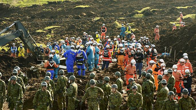 Balanço de vítimas mortais dos terramotos no Japão sobe para 47