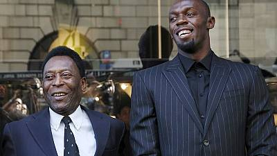 Pele sees a perfect Olympics; Bolt eyes triple 'three-peat'