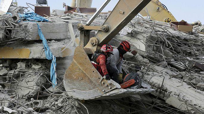 В Эквадоре ищут пропавших после землетрясения