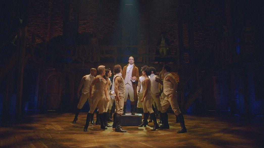 Broadway hit 'Hamilton' scoops Pulitzer prize