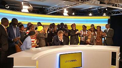 Compte à rebours lancement TV Africanews Jour-J