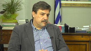 Ο υπουργός Υγείας της Ελλάδας Ανδρέας Ξανθός στο euronews