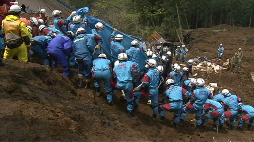 Japonya'da depremin ardından