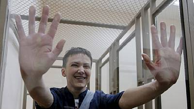 Jailed Ukrainian pilot could be freed in prisoner swap with Russia