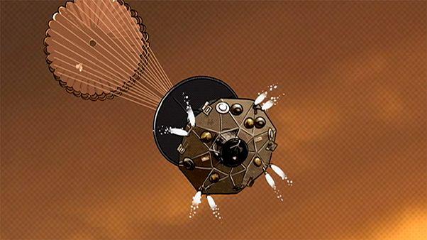 Destination Mars, episode 4: the controlled landing
