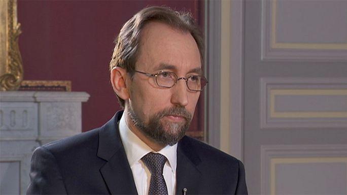زيد بن رعد الحسين: مجلس الأمن عجز عن وقف الصراع في سوريا