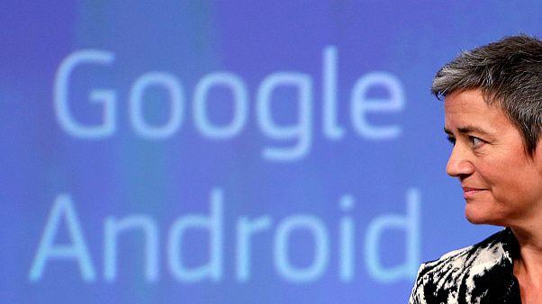 اتحادیه اروپا شرکت گوگل را به تخطی از مقررات رقابت متهم کرد