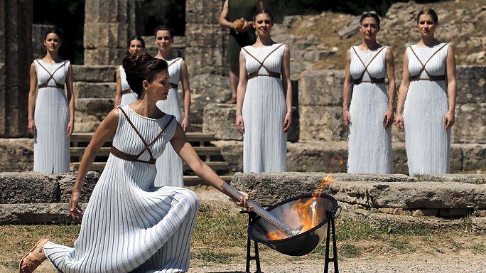 Olimpiyat ateşi nereden geliyor?