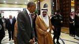 Obama arrives in Saudi Arabia amid US 'terror bill' debate