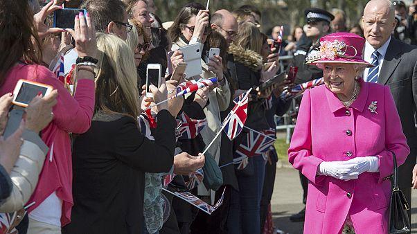Arrancan las celebraciones por el 90º cumpleaños de la reina Isabel II