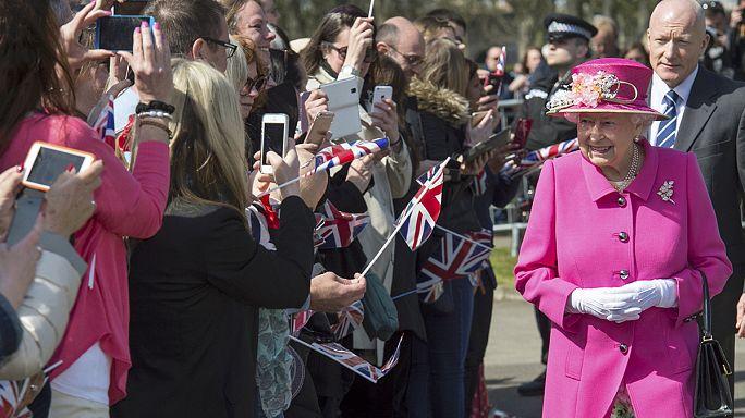 II. Erzsébet 90 éves
