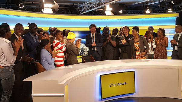 Africanews, le trasmissioni hanno preso il via
