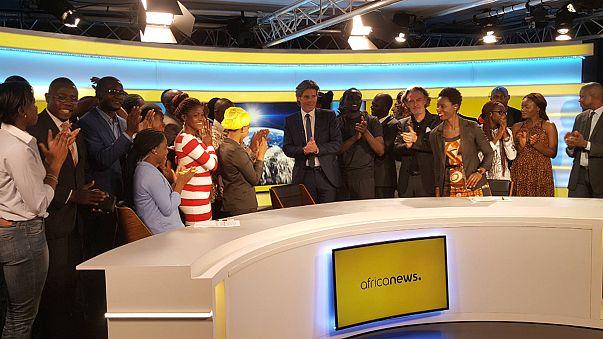 Africanews, filial africana de Euronews, inicia sus emisiones desde la República del Congo
