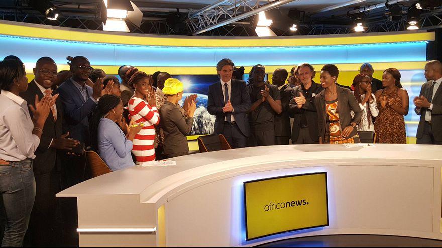 انطلاق بث قناة أفريكانيوز رسميا من بوانت نوار