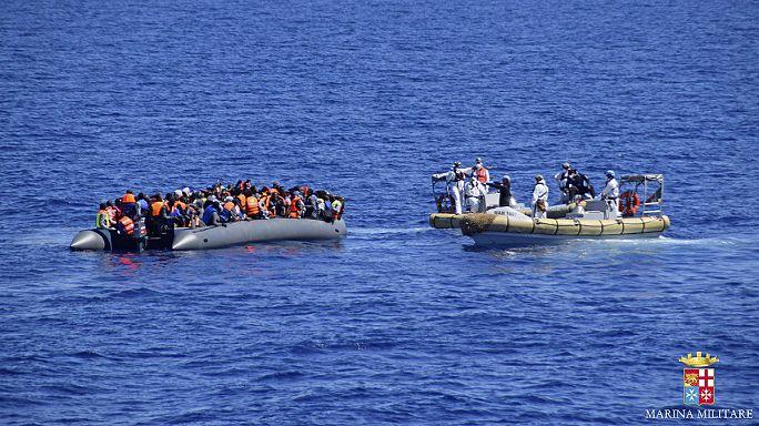500 menekült fulladt a Földközi-tengerbe múlt héten