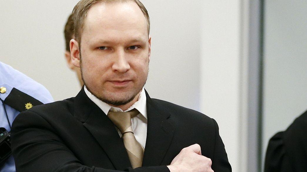 """La Norvège coupable de """"traitements inhumains"""" envers le prisonnier Breivik"""