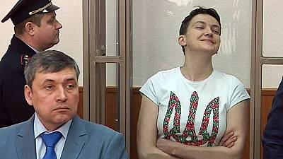 Kyiv starts ball rolling to get Savchenko released