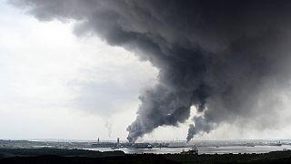 انفجار یک تأسیسات نفتی در مکزیک