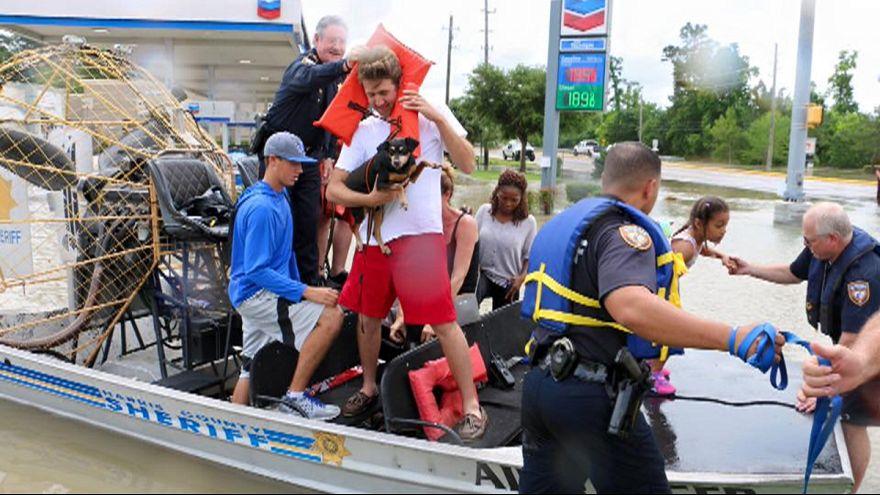 Inondations meurtrières à Houston (Texas)