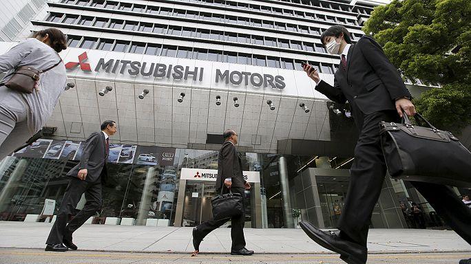 مداهمة مركز أبحاث شركة ميتسوبيتشي في طوكيو