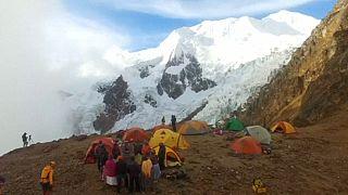 الشوليتاس في قمم جبال الأنديز