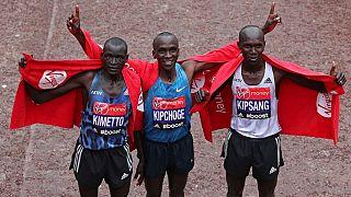 Kenyan athletes look to continue London marathon dominance
