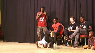 Breakdancing changing lives in Kampala