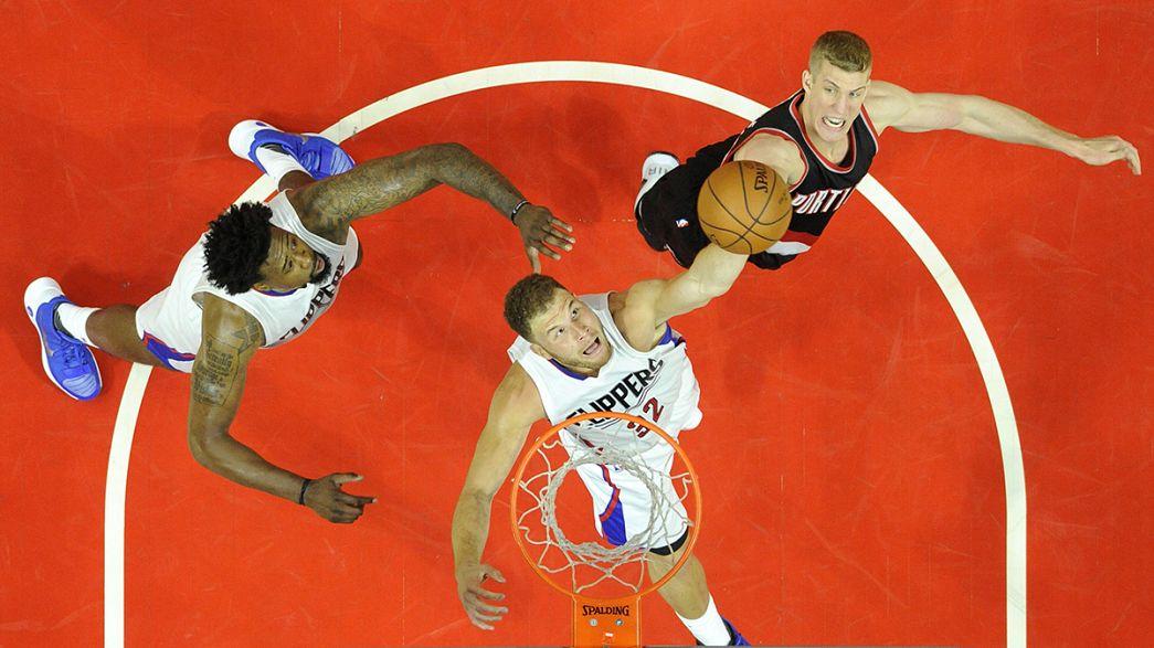 NBA : les Clippers font le break face à Portland