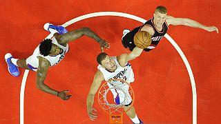 Cómoda victoria de los Clippers ante los Portland Trail Blazers