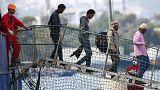 إنقاد حوالي 200 مهاجر غير شرعي ووفاة 500 غرقا في البحر الأبيض المتوسط