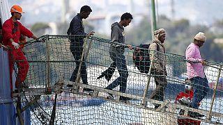 Más de 200 migrantes, llevados al puerto siciliano de Augusta tras ser rescatados