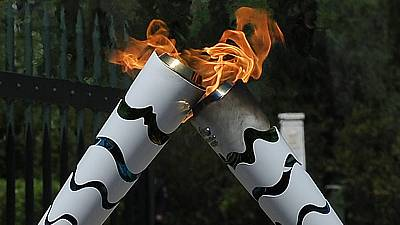 Olympics torch starts the journey to Rio