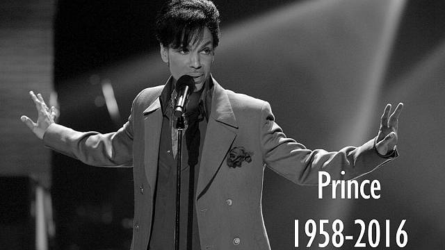 Music world in shock as Prince dies suddenly aged 57
