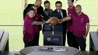 """Barcelone : les premières images du """"Nou Camp Nou"""""""