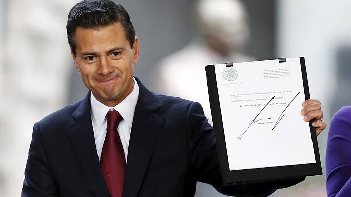 Meksika Devlet Başkanı Nieto'dan Parlamento'ya marihuana teklifi