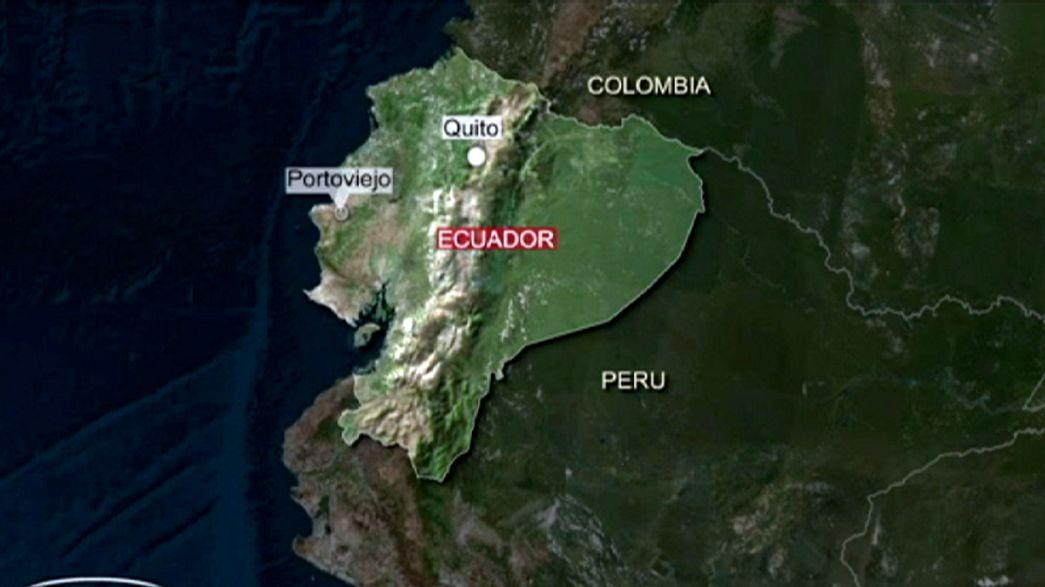 Ecuador hit again: magnitude-6.0 earthquake strikes west coast