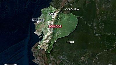 Novo sismo de magnitude 6 atinge o Equador