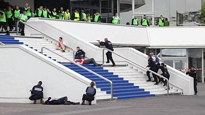 Terrorist attack simulation in Cannes before film festival – nocomment