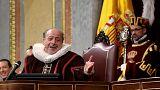 Cervantes İspanya Parlamentosu'nda anıldı