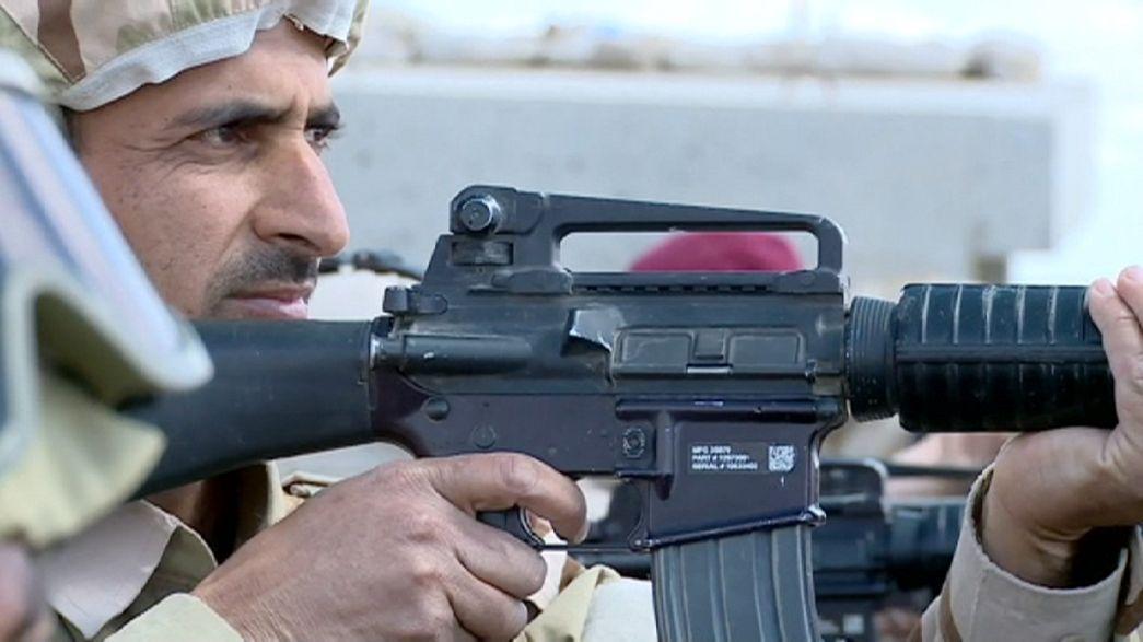 Irak: reportaje exclusivo desde el frente de la guerra contra el Dáesh