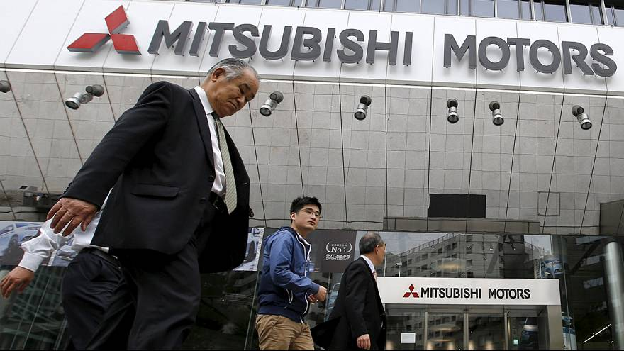 Ações da Mitsubishi desvalorizam 15%