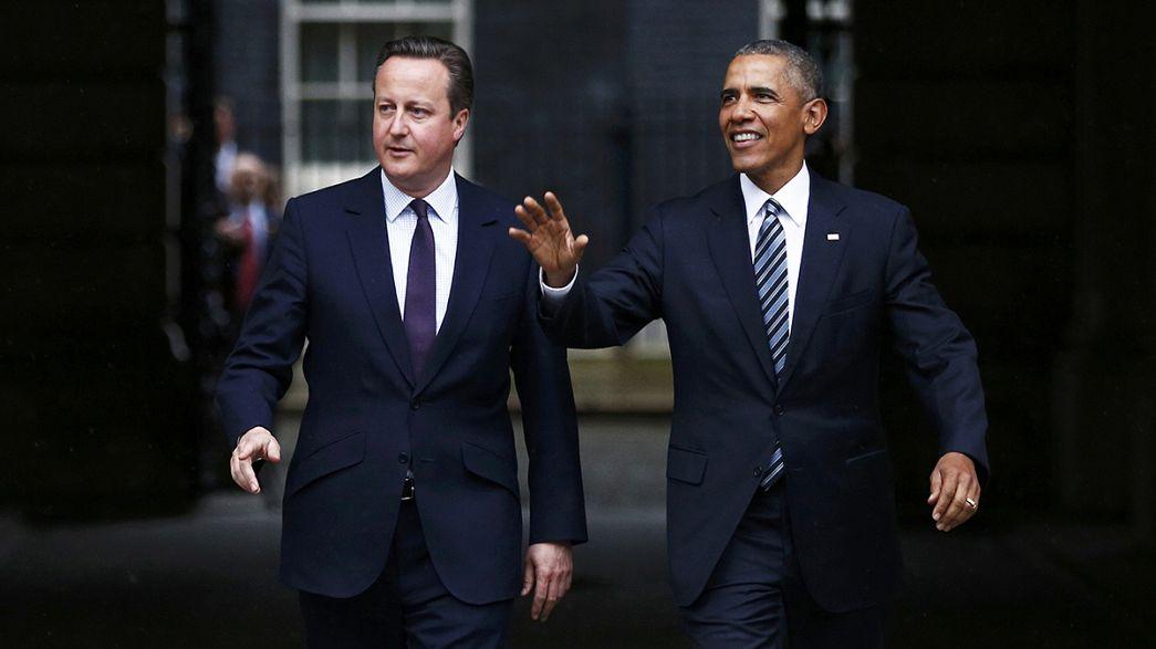 Verso la Brexit, Obama l'europeista