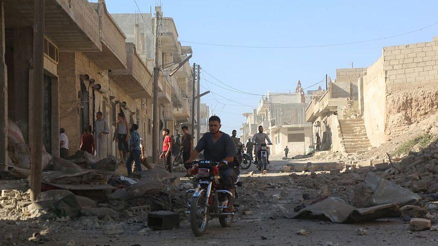 Assad regime's airstrikes over Idlib