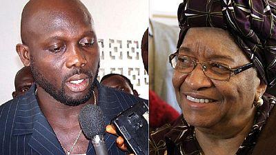''Je peux faire mieux que Sirleaf''...George Weah, candidat à la présidentielle libérienne de 2017