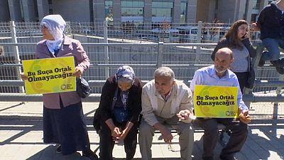 Türkei: Demonstration für angeklagte Journalisten