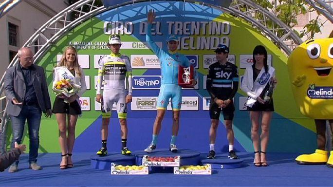 Tour du Trentin : Mikel Landa, 3e de la dernière étape, remporte l'épreuve