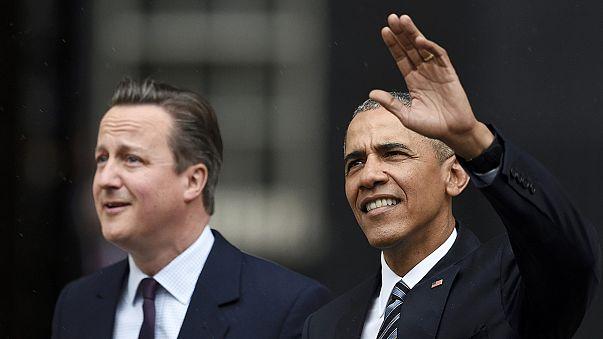 """مكافحة تنظيم """"داعش"""" ومستقبل بريطانيا ضمن أولويات أوباما وكاميرون"""