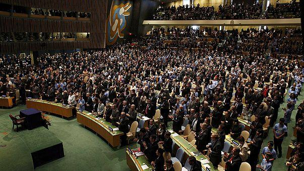 Klímaegyezmény: maratoni aláíró-nap az ENSZ-ben