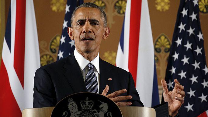 Obama en campagne à Londres contre le Brexit